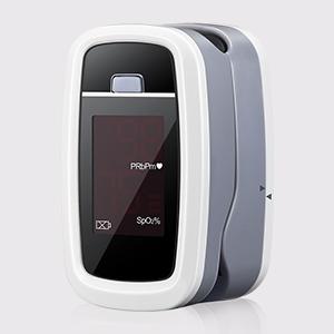 Saturimetro Da Dito, Mpow Saturimetro Pulsossimetro Display LED per Frequenza Del Polso(PR) e La Saturazione di Ossigeno(Spo2) Misure