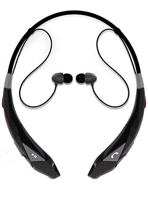 Wireless Stereo Headset and Neckband