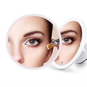 7 magnification makeup mirror