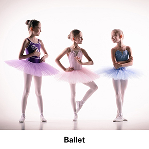 girl ballet outfit