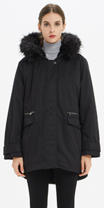 warm women's down coat keep warmth and comfortable