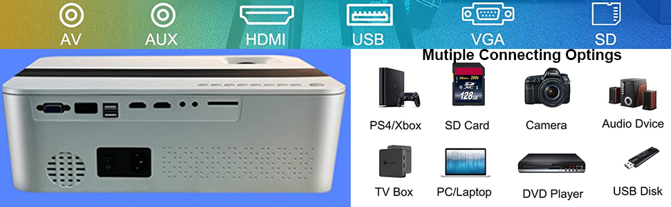 bluetooth projector