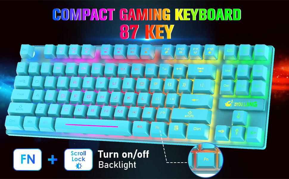 RGB gaming keyboard