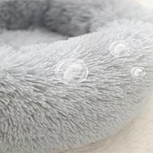 soft plush pet bed