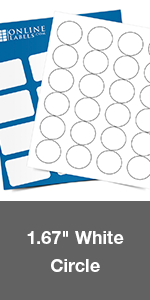 blank circle round labels