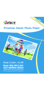 "180g 13""x19""x100 glossy photo paper"