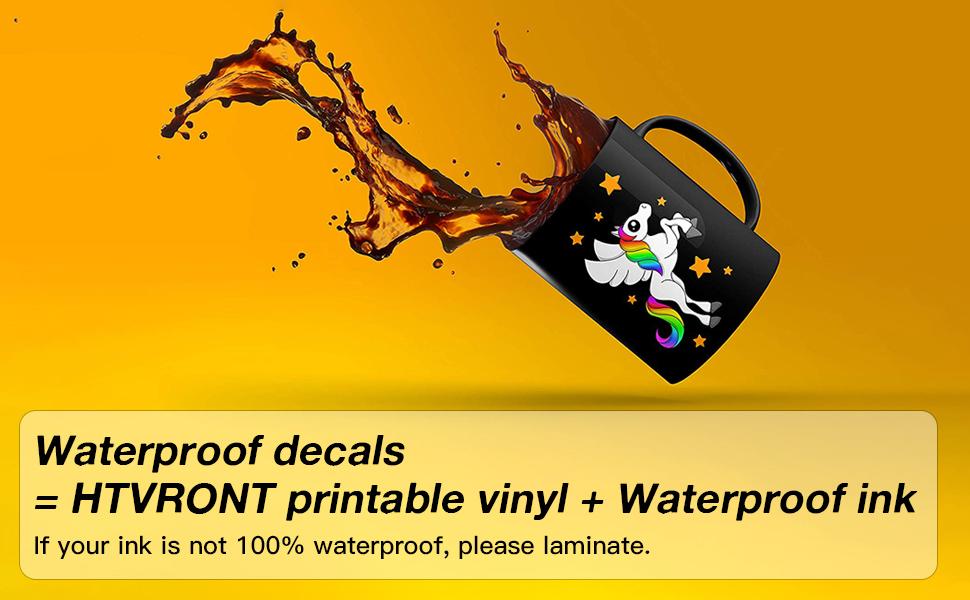 inkjet vinyl sticker paper