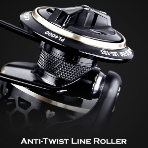 Anti-Twist Line Roller