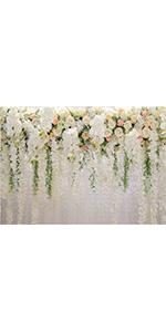 7x5FT 3D Rose Floral Photography Backdrops Wedding Bridal Supplies Studio Props
