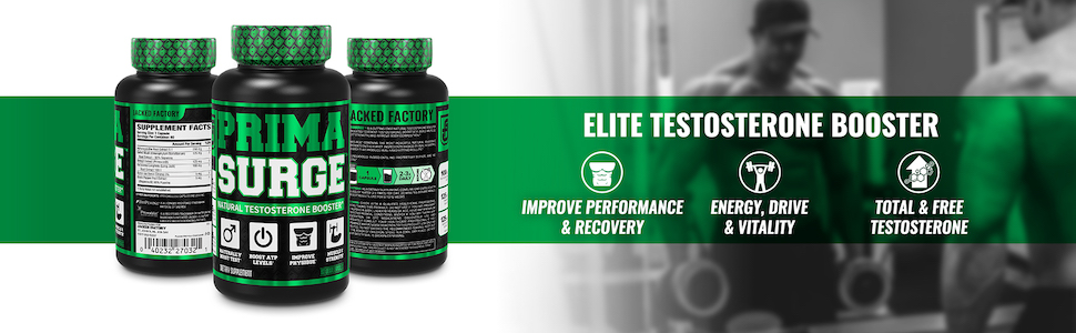 Primasurge - Elite Testosterone Booster