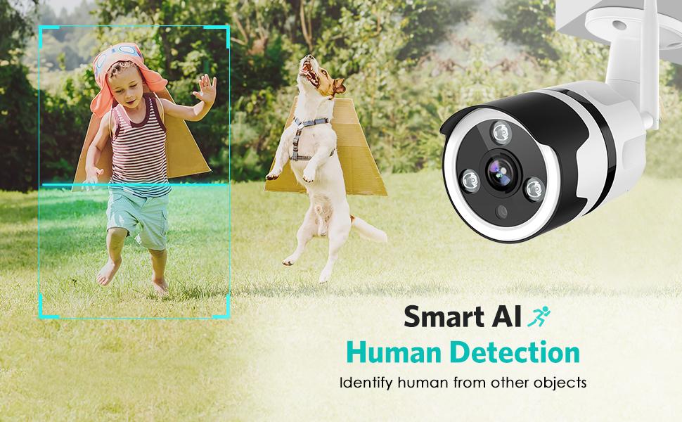 AI Outdoor Camera