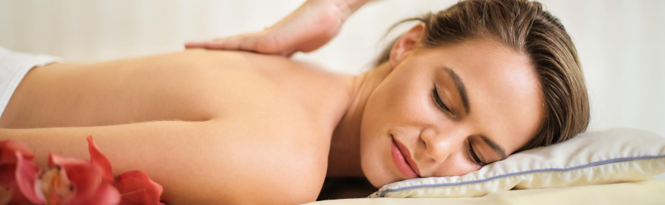 Perfekte Körperöl-Massage
