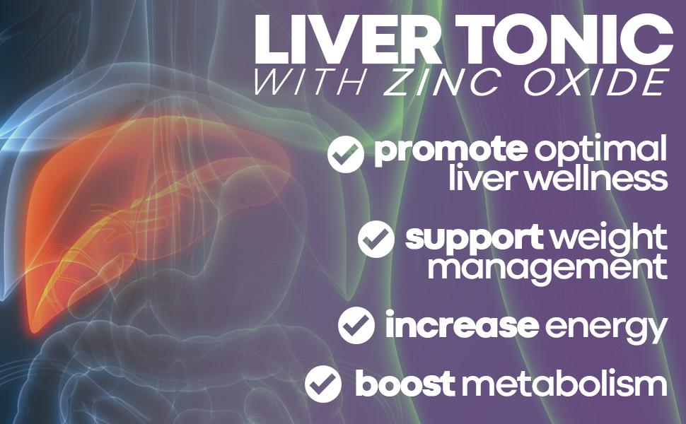 liver tonic with zinc oxide