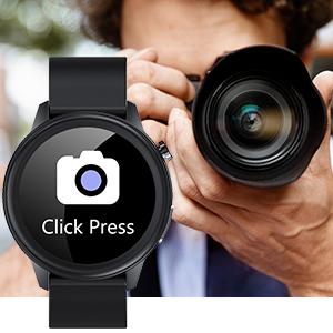 Smartwatch für Herren mit Kamerasteuerung