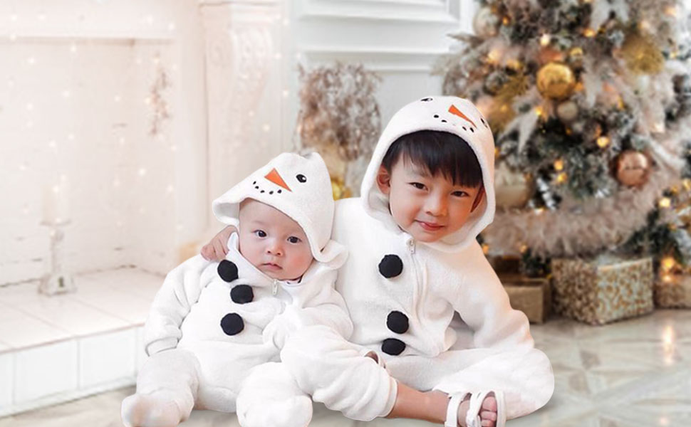 Details about  /Kids Newborn Baby Boy Girls Christmas Romper Outfits Loungewear Leisure Suit US