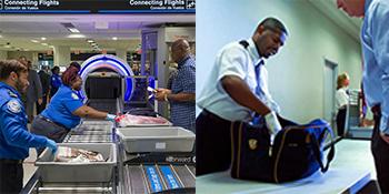 TSA Screeners Inspect Your Luggage