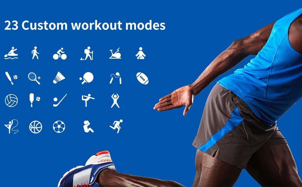 23 Sport fitness tracker