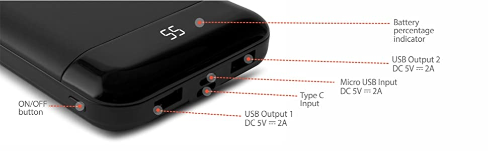 power bank data cable fast charging; power bank exchange offer;power bank earbuds;power bank10000mah