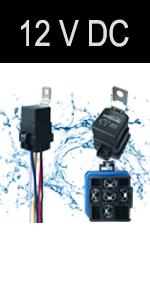 12v waterproof relay