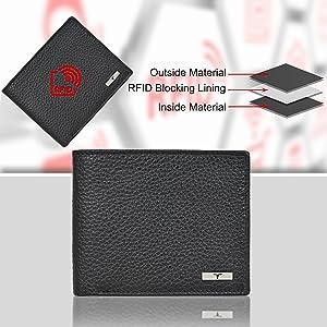 rfid blocking wallet , wallets for men, mens wallets leather , gifts for men, mens wallets, gifts