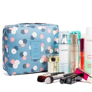 Portable Hanging Travel Organizer Folding Pouch Toiletry Cosmetic Bag