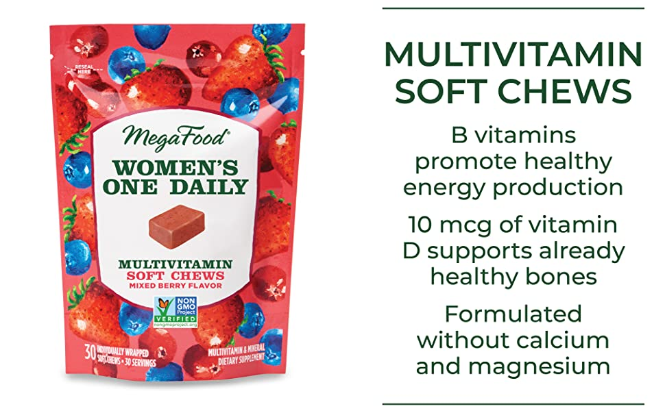Multivitamin soft chews