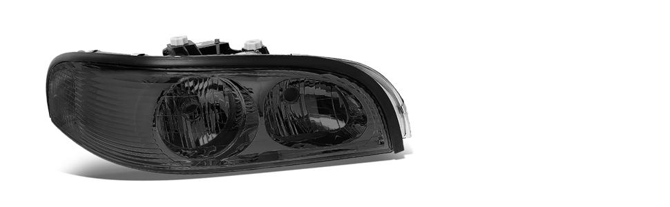 100W Halogen 6 inch Passenger Side with Install kit Larson Electronics 1015P9IKB4M -Black 1999 Buick Park Avenue Post Mount Spotlight