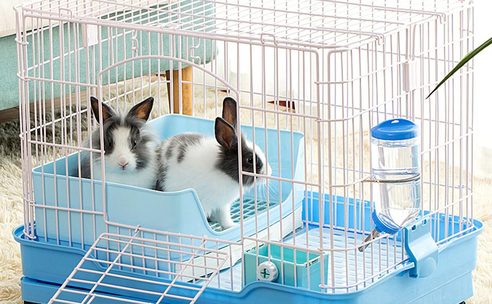 Large rabbit litter box