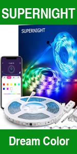 dream color led strip lights