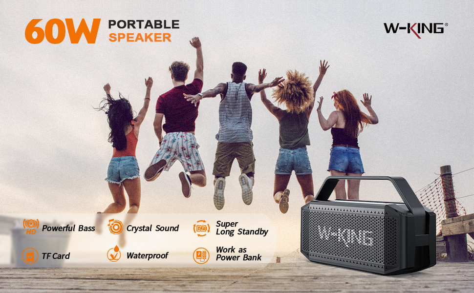 60W Bluetooth Speakers
