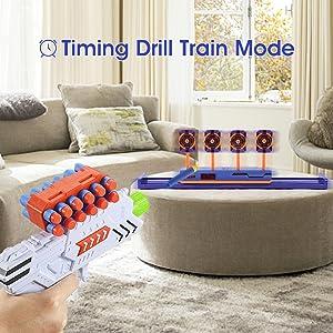 timing drill train mode