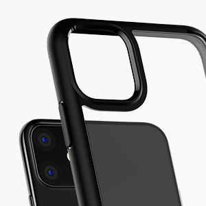 coque iphone 11 transparente noir souple silicone rigide protection etui case housse