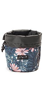 jadyn b cinch cosmet bag small cosmetic organizer cinch top soft bag makeup bag accessory designer