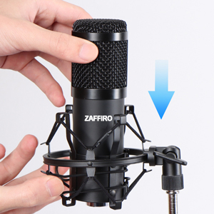 USB Microphone Condenser Microphone for Laptop MAC or Windows Cardioid Studio Recording Vocals