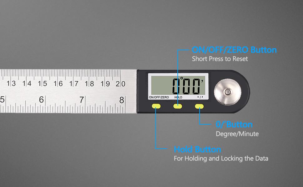Electronic Digital Angle Ruler