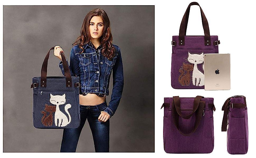 Cute cat bag for women