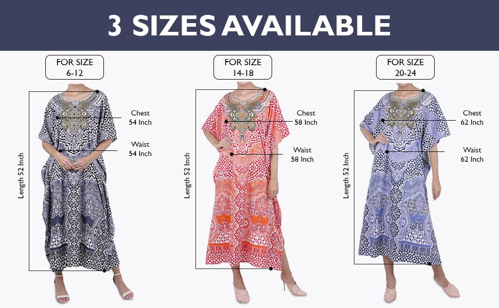 Miss Lavish London Ladies Kaftans Kimono Maxi Style Dresses