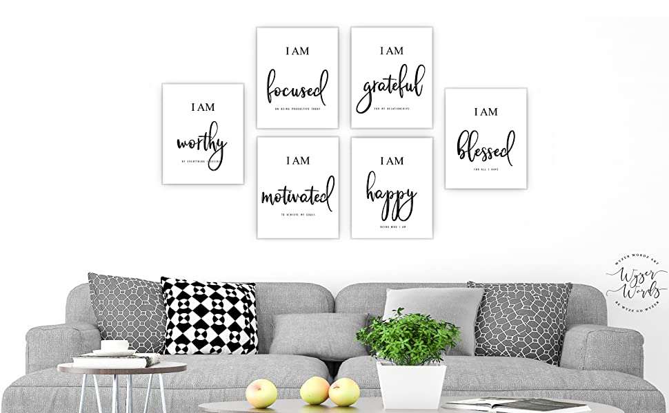 inspirational wall art motivational decor office wall decor bedroom living room kids