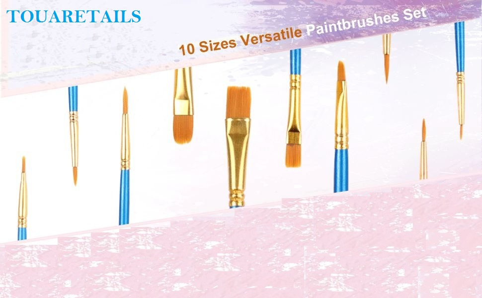 TOUARETAILS Artist Paint Brush Set