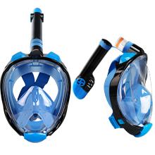 foldable full face snorkel mask