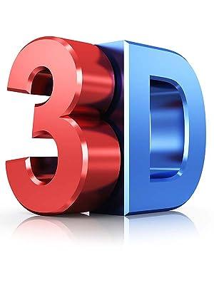 Ultra 5 Par de Negro Gafas 3D para Adultos para Uso con Todas Las ...