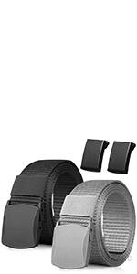 Schnellverschluss Milit/är G/ürtel Metallschnalle Nylon G/ürtel f/ür Outdoor-Aktivit/äten mit Taktischem Key Haken MELLIEX Taktischer G/ürtel