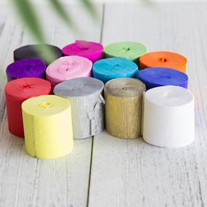 Multiple colour Crepe Paper Streamer