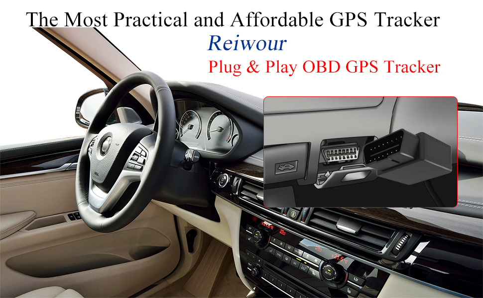 Reiwour OBD GPS Tracker