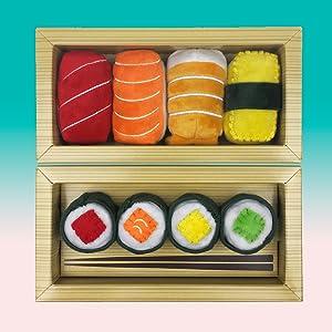 Munchiecat Sushi Catnip Toys
