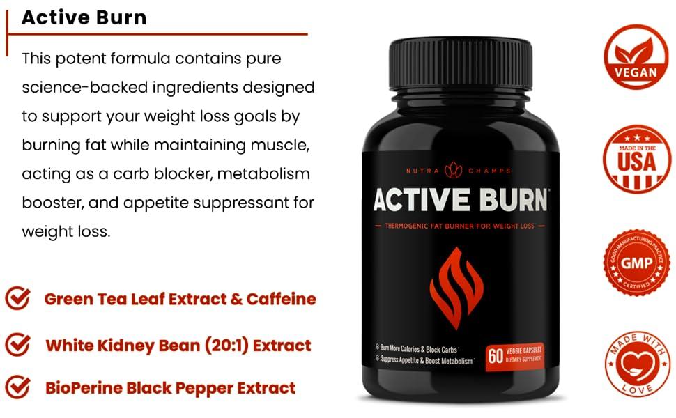 fat burn green tea and caffeine
