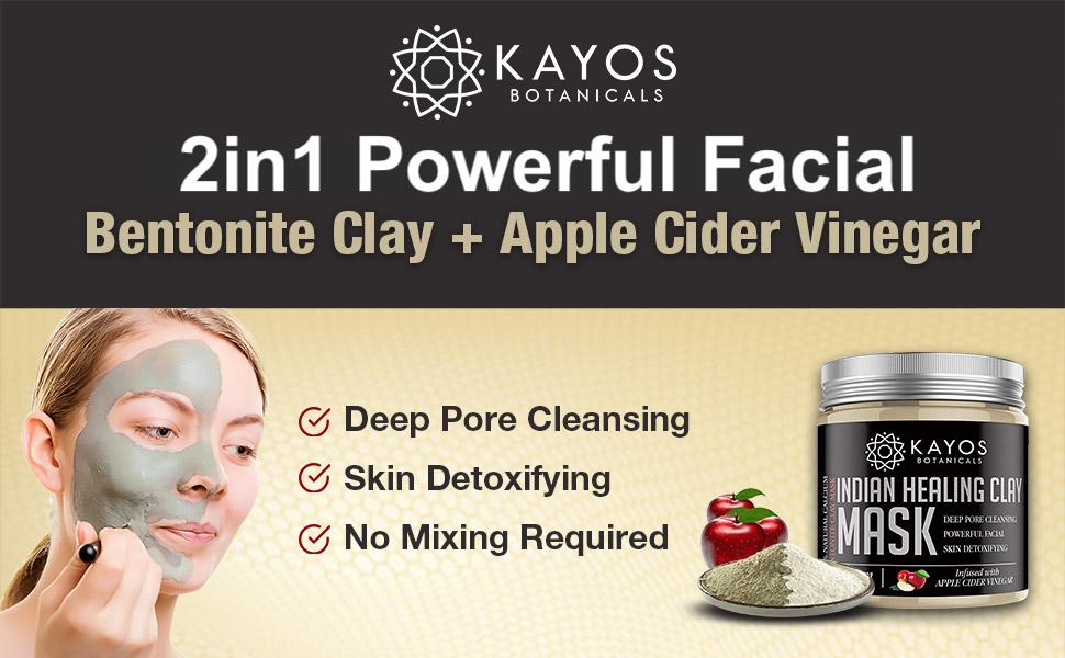 Kayos Indian Healing Clay Mask
