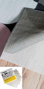 anti slip rug mat