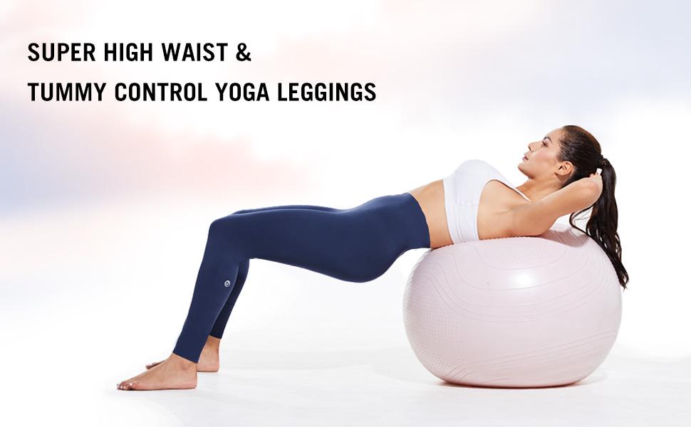 super high waist yoga leggings