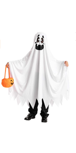 Ghost Boo and Friendly Costume